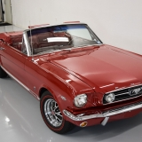 1966 Mustang GT convertible Candy Apple Red-43