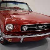 1966 Mustang GT convertible Candy Apple Red-46