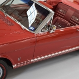 1966 Mustang GT convertible Candy Apple Red-47