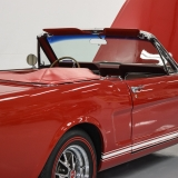 1966 Mustang GT convertible Candy Apple Red-48