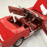 1966 Mustang GT convertible Candy Apple Red-49