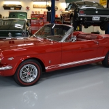 1966 Mustang GT convertible Candy Apple Red-5