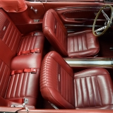 1966 Mustang GT convertible Candy Apple Red-50