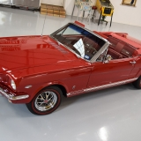 1966 Mustang GT convertible Candy Apple Red-54