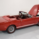 1966 Mustang GT convertible Candy Apple Red-6