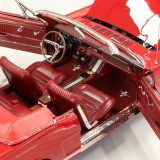1966 Mustang GT convertible Candy Apple Red-7