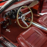 1966 Mustang GT convertible Candy Apple Red-8