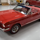 1966 Mustang GT convertible Candy Apple Red A code-1