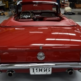 1966 Mustang GT convertible Candy Apple Red A code-10