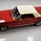 1966 Mustang GT convertible Candy Apple Red A code-13