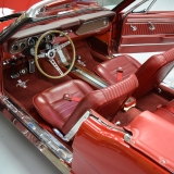 1966 Mustang GT convertible Candy Apple Red A code-2
