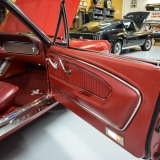 1966 Mustang GT convertible Candy Apple Red A code-25