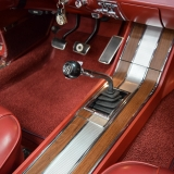 1966 Mustang GT convertible Candy Apple Red A code-3