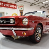 1966 Mustang GT convertible Candy Apple Red A code-9