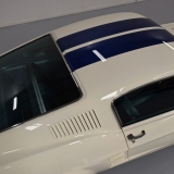 1967 Mustang Fastback white roof