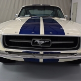 1967 Mustang Fastback grill