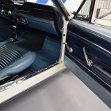 1967 Mustang fastback door panels blue