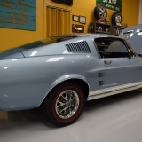 1967 Mustang GT A fastback Brittany Blue-12