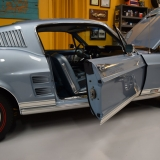 1967 Mustang GT A fastback Brittany Blue-17