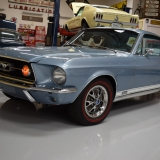 1967 Mustang GT A fastback Brittany Blue-2