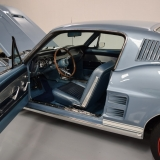 1967 Mustang GT A fastback Brittany Blue-3
