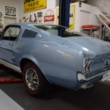 1967 Mustang GT GTA Fastback Brittany Blue-1