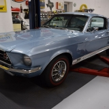 1967 Mustang GT GTA Fastback Brittany Blue-4