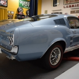 1967 Mustang GT GTA Fastback Brittany Blue-5