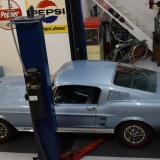 1967 Mustang GT GTA Fastback Brittany Blue-7