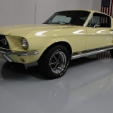 1967 Mustang S-code GT Fastback Yellow -07