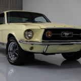 1967 Mustang S-code GT Fastback Yellow -08