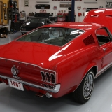 1967 S-code GT fastback Candy Apple Red & Parchment-1