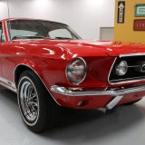 1967 S-code GT fastback Candy Apple Red & Parchment-3