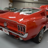 1967 S-code GT fastback Candy Apple Red & Parchment-5
