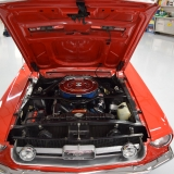 1967 S-code GT fastback Candy Apple Red & Parchment-6