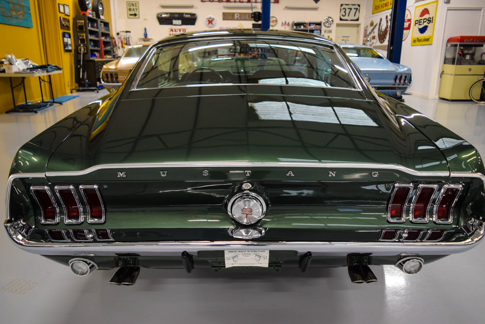 Mustang Club Of America >> 1968 Mustang GT Fastback Highland Green - For Sale - MyRod.com