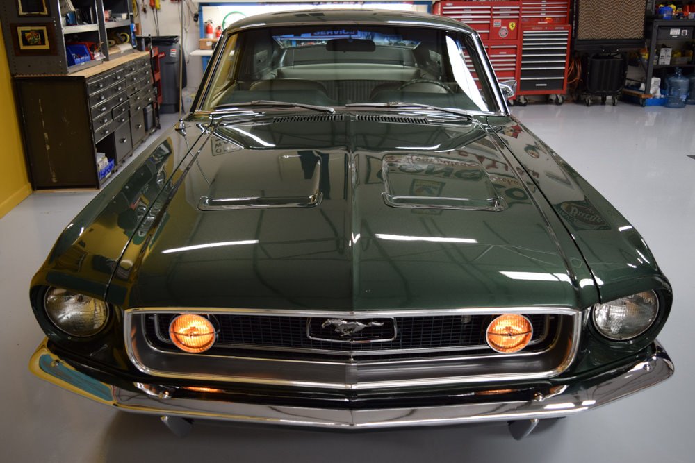 Mustang Fastback For Sale >> 1968 Mustang GT Fastback Highland Green - For Sale - MyRod.com