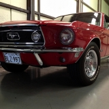 1968 Mustang GT 390 red 02