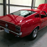1968 Mustang GT 390 red 05