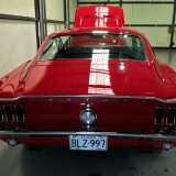 1968 Mustang GT 390 red 06