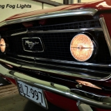 1968 Mustang GT 390 fog lights