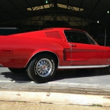 1968 Mustang GT 390 red 10