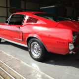 1968 Mustang GT 390 red 11