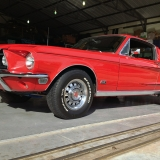 1968 Mustang GT 390 red 12