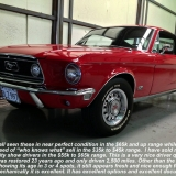 1968 Mustang GT 390 red 13