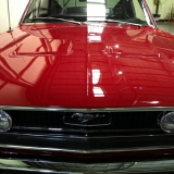 1968 Mustang GT 390 red 16