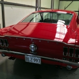 1968 Mustang GT 390 red 48