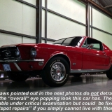 1968 Mustang GT 390 red