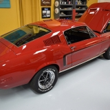 1968 Mustang S-code Fastback Red with black C stripe