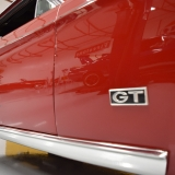 1968 Mustang GT badge placement